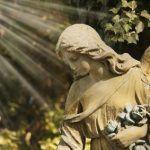 Engel auf einem Friedhof in Mönchengladbach
