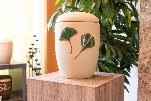 Urne aus Keramik / Ton